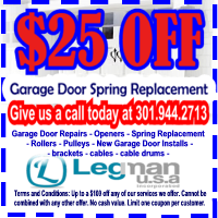 Silver Spring Garage Door Repair
